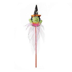 Enfeite Pick Bruxa Halloween
