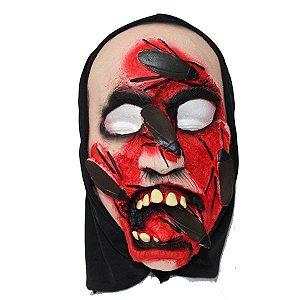 Máscara Zumbi Baratas Halloween