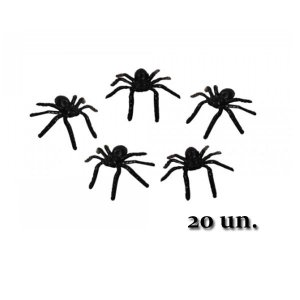 Mini Aranha Halloween C/20