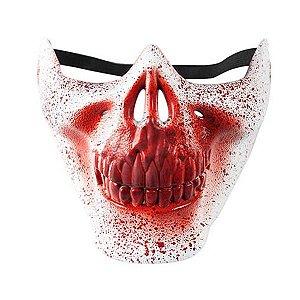 Máscara Caveira Sangrenta Halloween