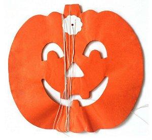 Bandeirola / Guirlanda de Papel Halloween Abóbora