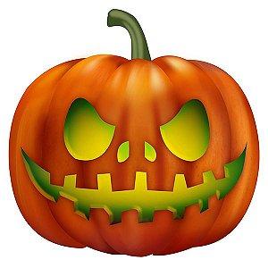 Enfeite Abóbora para Mesa Halloween C/4