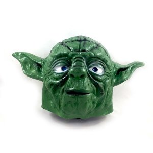Máscara Látex Star Wars Mestre Yoda