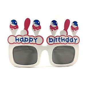 """Óculos Feliz Aniversário """"Happy Birthday"""""""