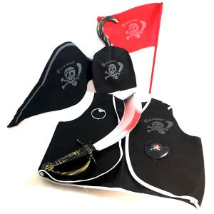 Conjunto Fantasia Pirata Infantil
