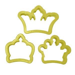 Cortador Coroas Médias Com 3 Peças