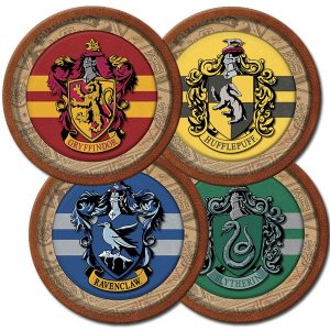 Prato de Papel Harry Potter C/8