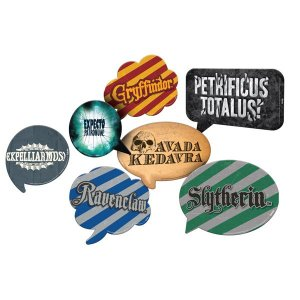 Placas Decorativas Harry Potter C/9