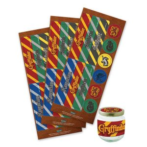Adesivo Para Lembrancinhas Harry Potter C/36
