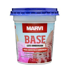 Base Sorvete e Sobremesa Leite Condensado MARVI 100g
