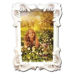 Porta Retrato Moldura Branca 10x15
