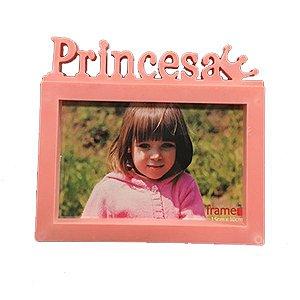 Porta Retrato Moldura Rosa Princesa 15x10