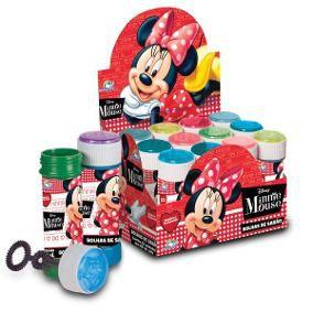 Bolha de Sabão Minnie Mouse Caixa C/12