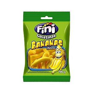 Bala de Gelatina Bananas Fini 100g
