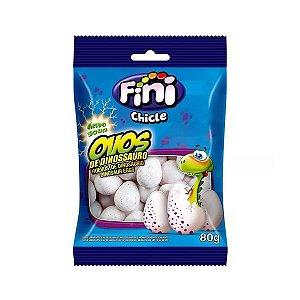 Chiclete Ovos de Dinossauro Fini | 80g