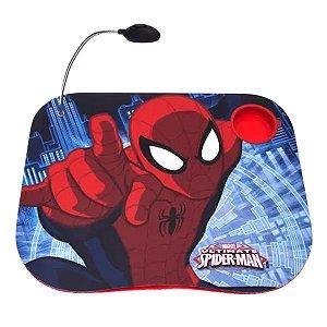 Bandeja Com Luminária Homem-Aranha Marvel