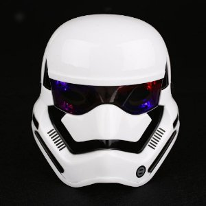 Máscara Star Wars Com LED Stormtrooper