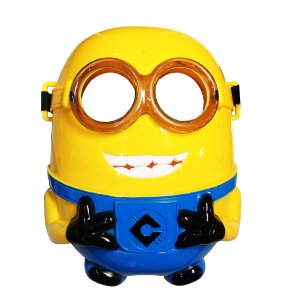 Máscara Minions Com LED