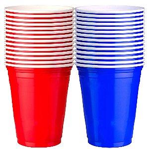 100 Unidades de Red Cup e 50 de Blue Cup | 400ml