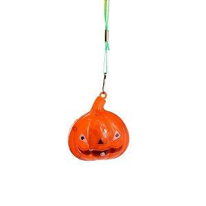 Colar Pisca Pisca Halloween Abóbora Unitário