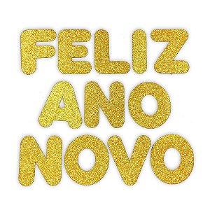 Painel / Letras Feliz Ano Novo EVA | C/12 | 13cm