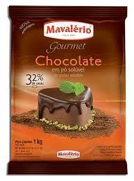 Chocolate em pó solúvel 32% de Cacau | 1kg