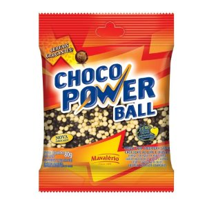Cereal Choco Power Ball Mini ao Leite e Branco | 80g