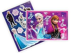 Kit Decorativo Frozen: Uma Aventura Congelante C/09