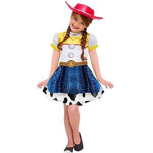 Fantasia Original Vestido Jessie Toy Story