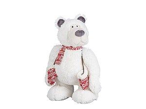 Urso Polar Branco de Pelúcia | 45cm