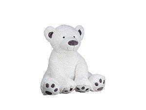 Urso Polar Branco de Pelúcia | 69cm