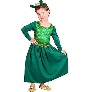 Fantasia Original Princesa Fiona Infantil