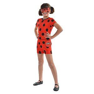 Fantasia Ladybug Infantil Curta | Sulamericana