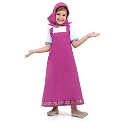 Fantasia Masha Infantil Vestido (Masha e o Urso) | Sulamericana