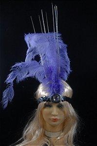 Tiara Faixa Carnaval C/ Pena