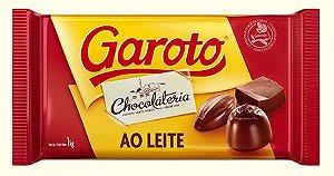 Chocolate Ao Leite em Barra Garoto | 1kg