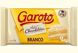 Chocolate Branco em Barra Garoto | 1kg