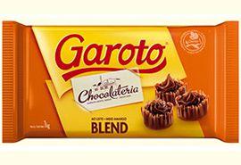 Chocolate em Barra Garoto Blend | 1kg