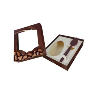 Caixa para Ovo de Colher Gourmet Premium  | 250g