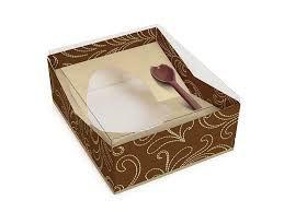 Caixa Para Ovo Gourmet Cromus C/Colher | 250g