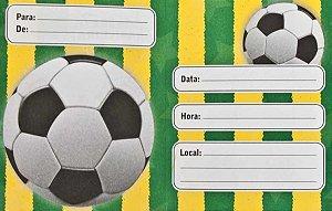 Convite Brasil  C/8   Copa do Mundo