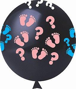 Balão / Bexiga N11 Chá Revelação Sortido | C/25