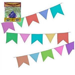 Kit Bandeirola De Papel 200m | Com 20 pacotes
