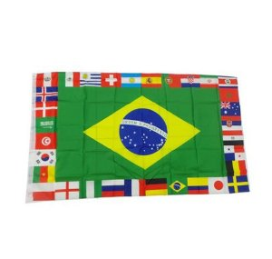 Bandeira dos Países | 90 x 150 cm
