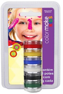 Tinta Cremosa C/6 Kids | Color Make