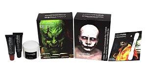 Kit Maquiagem do Terror Efeitos Especiais Halloween | Color Make
