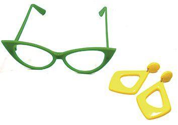 Óculos Brasil C/ Brinco