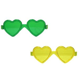 Óculos Brasil Coração C/12 | Copa do Mundo
