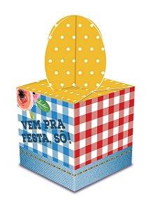 Caixa Lembrancinha Festa Junina C/8 | Junco