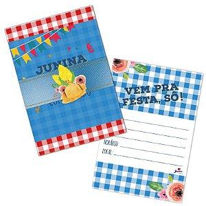 Convite Festa Junina C/8 | Junco